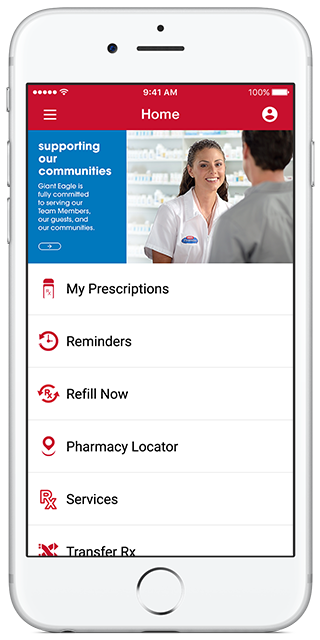 Unlike other supermarkets that have incorporated pharmacy into their primary retail mobile applications, the Giant Eagle pharmacy app functions independently to allow users to keep track of all.